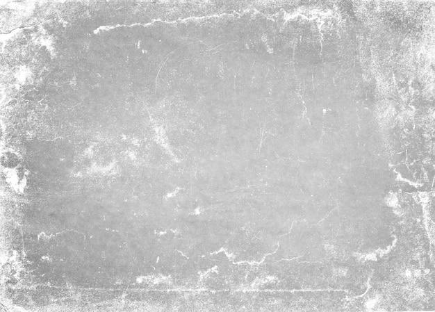 Abstrait cadre sale ou vieillissement. texture de particules de poussière et grain de poussière sur fond blanc,