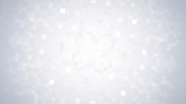 Abstrait de carrés blancs. style géométrique dynamique élégant et luxueux pour les entreprises, illustration 3d