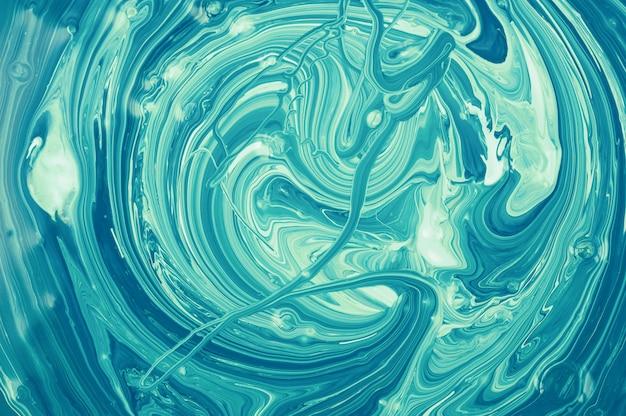 Abstrait coloré art moderne. texture acrylique liquide.