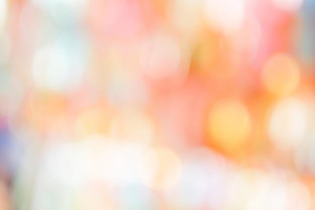 Abstrait coloré bokeh pastel coloré rose jaune bleu