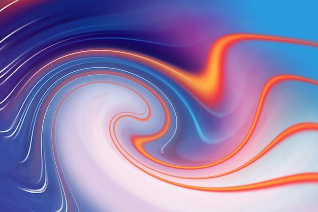 Abstrait coloré avec effet tourbillon
