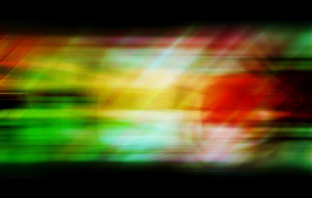Abstrait coloré flou