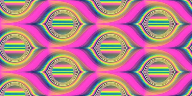 Abstrait coloré motif transparent pour l'emballage de la décoration intérieure en tissu de la page web