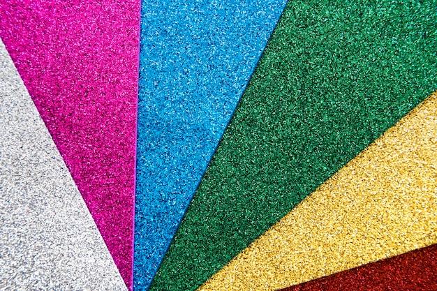 Abstrait coloré de paillettes