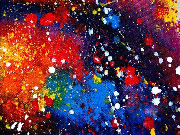 Abstrait coloré de peinture aquarelle gouttes.
