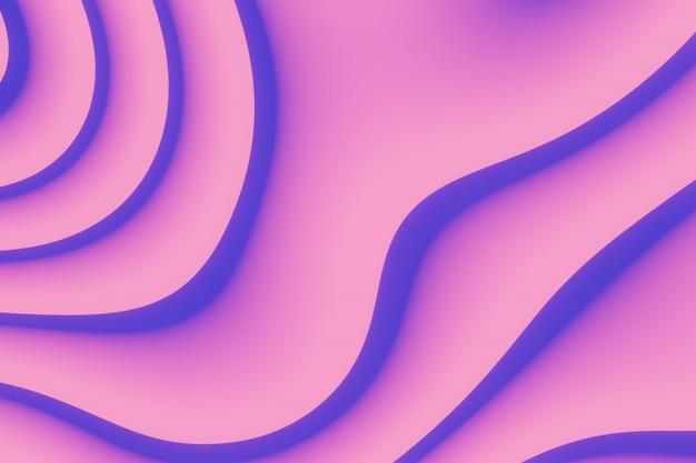 Abstrait coloré sous la forme de divers motifs et formes de lignes et de taches.
