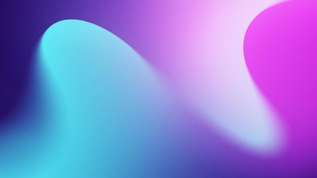 Abstrait coloré avec teinte cyan et violet