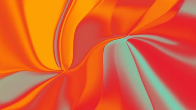 Abstrait coloré avec teinte jaune et rouge