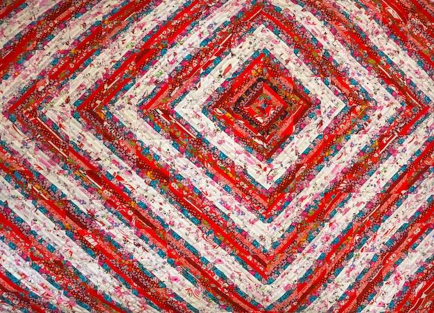 Abstrait de couleur. patchwork fait main