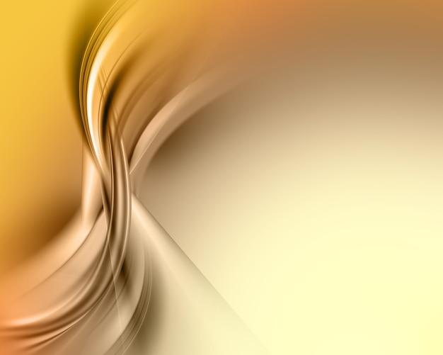 Abstrait avec des courbes fluides