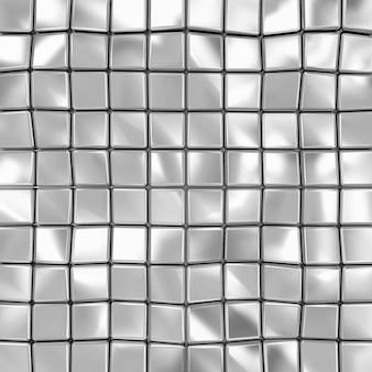 Abstrait de cubes métalliques