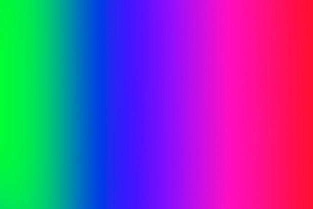 Abstrait dégradé flou avec des couleurs primaires vives