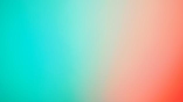 Abstrait dégradé flou. fond de couleur rouge et vert menthe multicolore ou bleu tiffany. modèle de bannière.