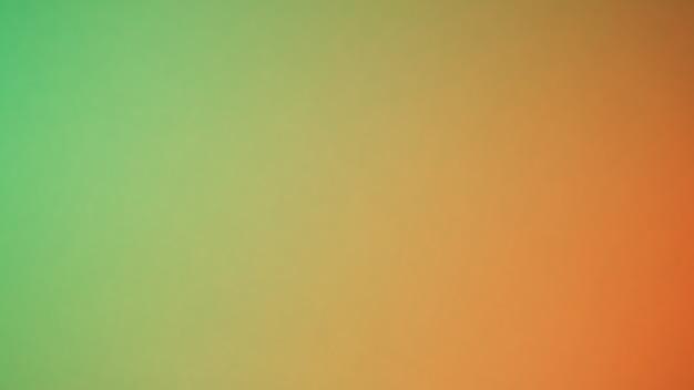 Abstrait dégradé flou. fond de couleur vert et jaune orange multicolore. modèle de bannière.