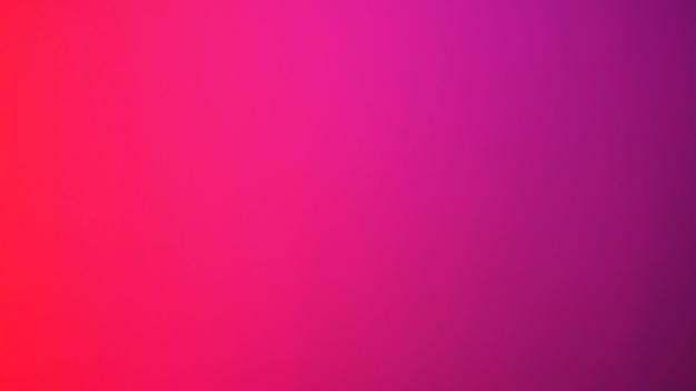 Abstrait dégradé flou. rouge multicolore, rose et magenta, fond de couleur violet. modèle de bannière.