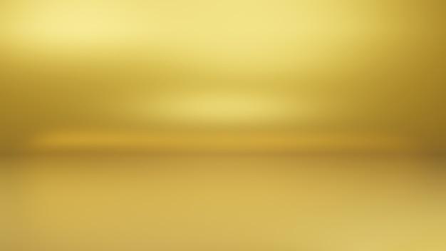 Abstrait dégradé de lumière or simple