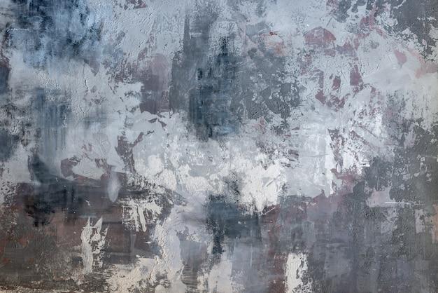 Abstrait dessin peinture sur le mur
