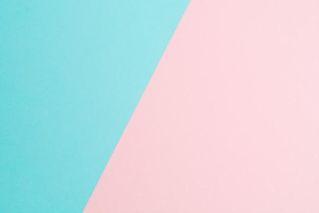 Abstrait de deux papier coloré pastel