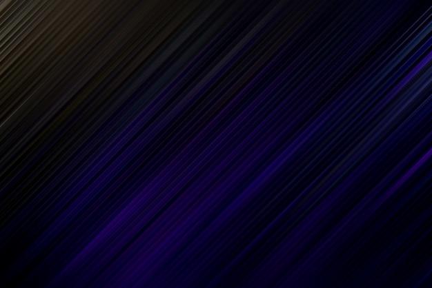 Abstrait diagonal noir et bleu foncé lignes dégradées art pour une texture dynamique