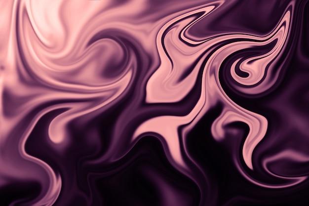Abstrait de doublure liquide colorée. texture abstraite d'acrylique liquide.