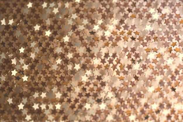 Abstrait avec des étoiles brillantes. toile de fond pour cartes de vœux ou de noël. nombreuses formes d'étoiles disposées au hasard.