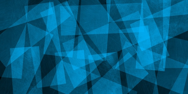 Abstrait fan de triangles, illustration 3d