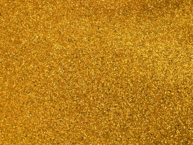 Abstrait de flocons d'or.