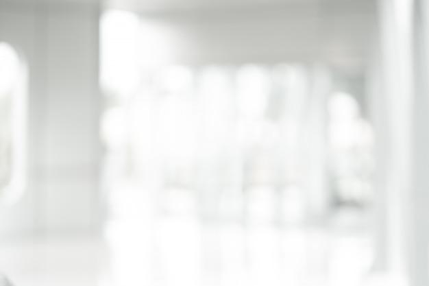 Abstrait flou blanc