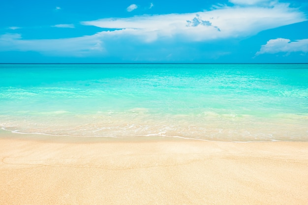 Abstrait flou bord de mer