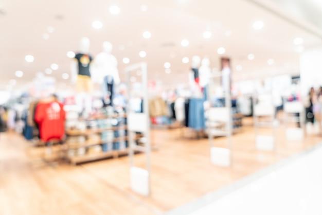 Abstrait flou centre commercial