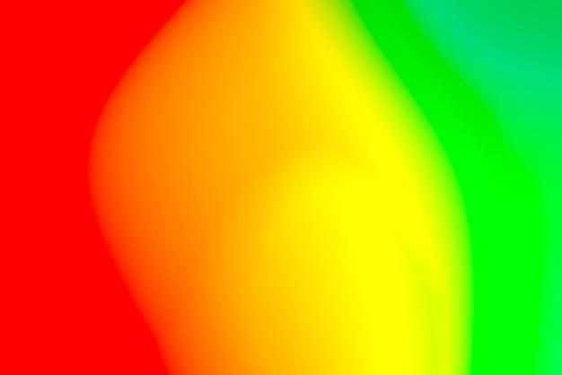 Abstrait flou avec des couleurs primaires vives