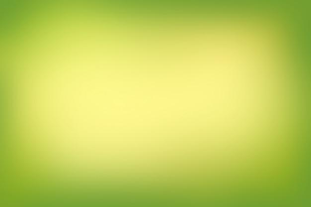 Abstrait flou dégradé de couleurs vertes