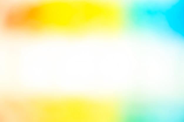 Abstrait flou dégradé de lumière colurful pour fond d'écran.
