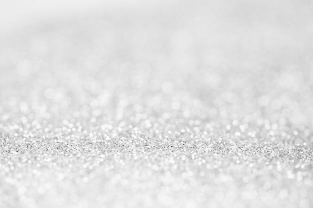 Abstrait flou fond de bokeh blanc étincelant.