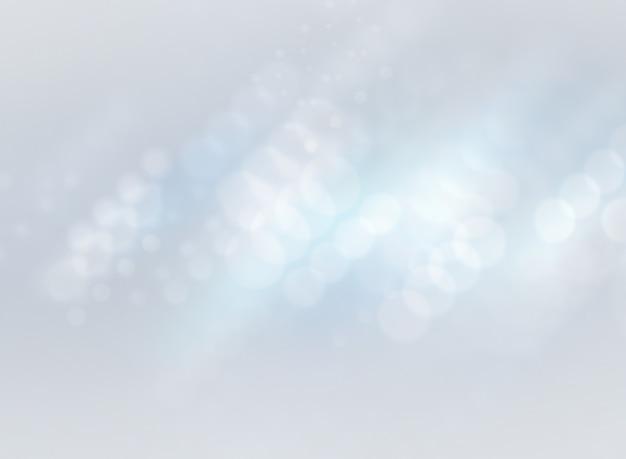 Abstrait avec un flou de lumière blanche