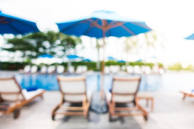 Abstrait flou de piscine