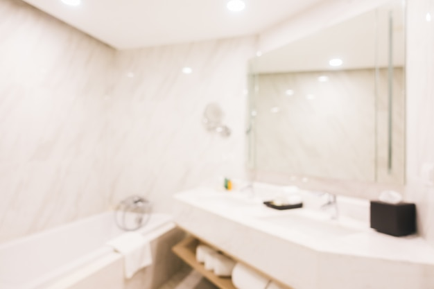 Abstrait flou salle de bain