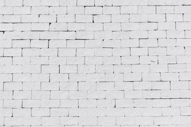 Abstrait, fond blanc, mur de briques