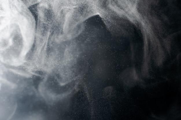 Abstrait fond éclaboussé de poudre