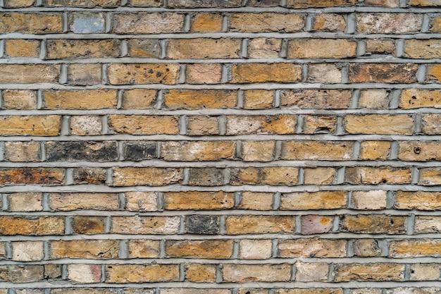 Abstrait de fond de mur de brique et toile de fond, espace de copie vierge. large mur de briques panorama de la maçonnerie.