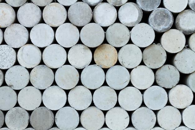 Abstrait de formes rondes en acier inoxydable