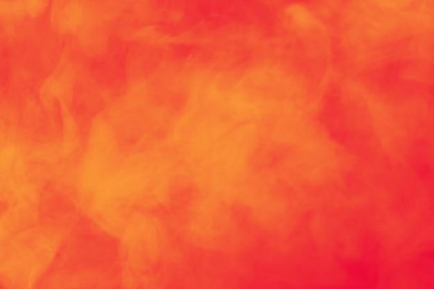 Abstrait fumée colorée.