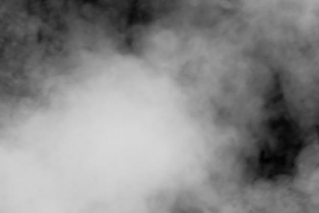 Abstrait fumée noir et blanc
