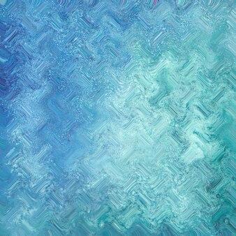 Abstrait futur géométrique turquoise bleu turquoise vert avec des formes abstraites. illustration de conception graphique