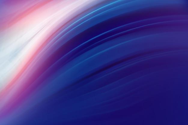Abstrait graphique avec des lignes et des lumières courbes ondulées