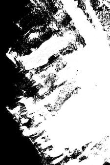Abstrait grunge de contraste. noir et blanc