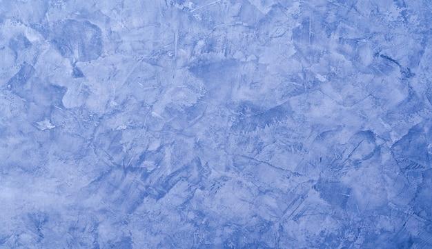 Abstrait grunge avec mur de ciment bleu.