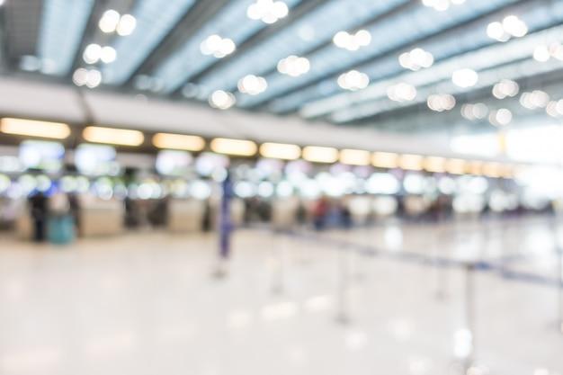 Abstrait intérieur aéroportuaire