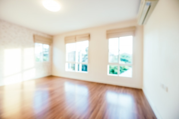 Abstrait intérieur salle flou pour le fond