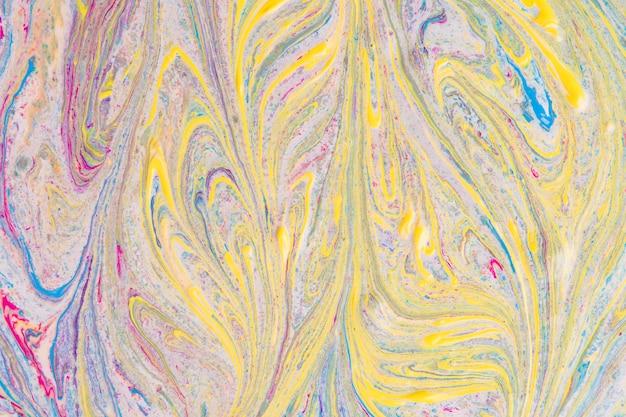 Abstrait jaune et gris